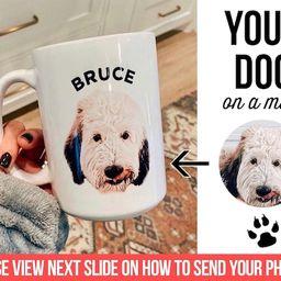 Dog Mug Personalized with your dog's photo and name | Etsy | Etsy (US)