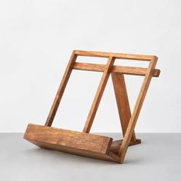 Decorative Wooden Cookbook Holder Easel - Hearth & Hand™ with Magnolia | Target