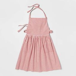 Cotton Striped Apron Red - Threshold™ | Target