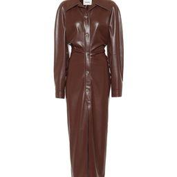 Sami faux leather shirt dress | Mytheresa (US)