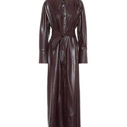 Rosana faux leather shirt dress | Mytheresa (US)