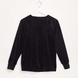 Lou & Grey Velour Sweatshirt   LOFT