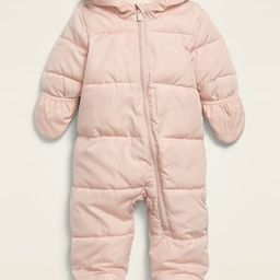 Unisex Quilted Water-Resistant Snowsuit for Baby | Old Navy (US)