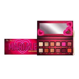 Too Faced Mariale Palette with Dual-Ended Eyeshadow Brush | HSN