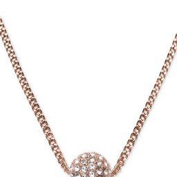 "Crystal Fireball 16"" Pendant Necklace | Macys (US)"