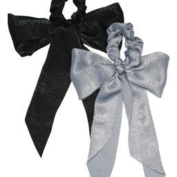 2-Pack Satin Scarf Scrunchies   Nordstrom