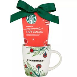 Starbucks Cup 'O Cheer Holiday Hot Chocolate Cocoa Gift Set, Includes Ceramic Mug and Peppermint ...   Target