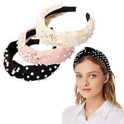 Headbands for Women 6 Pack, 3 Bee Animal Headbands and 3 Velvet Pearl Hairbands, Cute Fashion Ele...   Amazon (US)