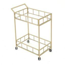 Falon Modern Glam Bar Cart - Christopher Knight Home   Target