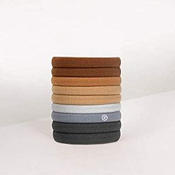 GIMME Bands Any Fit Neutrals Hair Ties, 9PC.   Amazon (US)