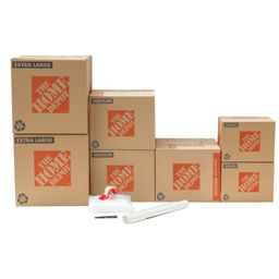 The Home Depot 7-Box Bathroom Moving Box Kit   The Home Depot