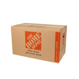 The Home Depot Heavy Duty Large Moving Box (28 in. L x 15 in. W x 16 in. D) (10-Pack)   The Home Depot