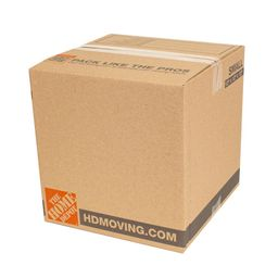 The Home Depot 12 in. L x 12 in. W x 12 in. D Standard Moving Box (30-Pack)   The Home Depot