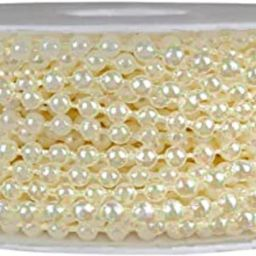 Faux Pearls Garland Pearls String of Pearls for Crafts Pearls for Decoration String Pearls for Cr... | Amazon (US)
