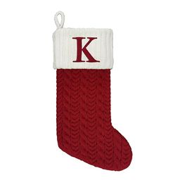 St. Nicholas Square® Knit Monogram Stocking | Kohl's