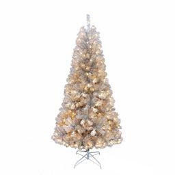 Kurt Adler 7-ft. Pre-Lit Silver Point Pine Artificial Christmas Tree | Kohl's