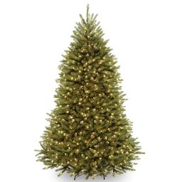 National Tree Co. 7.5 ft. Dunhill Fir Artificial Christmas Tree with Clear Lights | Kohl's