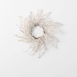 Sullivans Artificial Snowy Cedar and Berry Wreath   Target