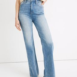 """11"""" High-Rise Flare Jeans in Arbordale Wash   Madewell"""