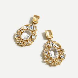 Cluster drop stone earrings | J.Crew US