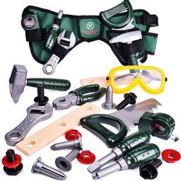 Kids Tool Set,Pretend Play Construction Tool with Kids Tool Belt F-439 | Walmart (US)
