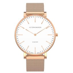 Emerson Watch - Rose Gold on Rose Gold | Victoria Emerson