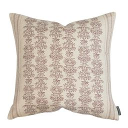 Demi Floral Stripe Pillow Cover | McGee & Co.