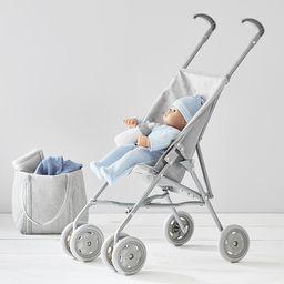 Gray Stars Umbrella Doll Stroller | Pottery Barn Kids