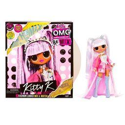 L.O.L. Surprise! O.M.G. Remix Kitty K Fashion Doll – 25 Surprises with Music | Target