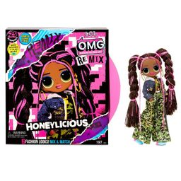 L.O.L. Surprise! O.M.G. Remix Honeylicious Fashion Doll– 25 Surprises with Music | Target