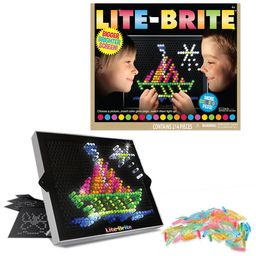 Lite Brite Ultimate Classic With 6 Templates And 200 Colored Pegs | Walmart (US)