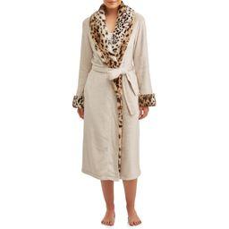 Secret Treasures Women's and Women's Plus Superminky Robe | Walmart (US)