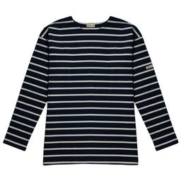 The Isabel - Navy/Natural   The Striped Sheep