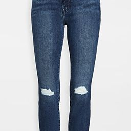 Good Legs Crop Jeans with Raw Edge   Shopbop