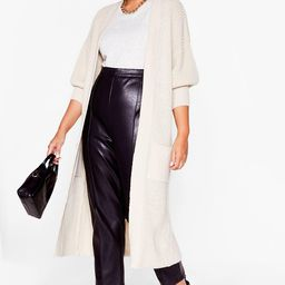 It's Been a Longline Time Plus Knitted Cardigan | NastyGal (US & CA)