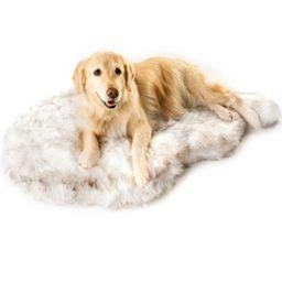 PupRug Faux Fur Orthopedic Dog Bed Curve Small/Medium   Macys (US)