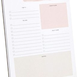 """Daily to-Do List Notepad – 50 Sheets Daily Planner Notepad Tear Off Size: A5 (8.3 x 5.8"""") –... 