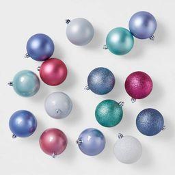 50ct Snow Day Parade Christmas 70mm Ornament Set - Wondershop™   Target