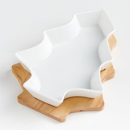 Cedar Tree Oven-to-Table Serving Dish | Crate and Barrel | Crate & Barrel