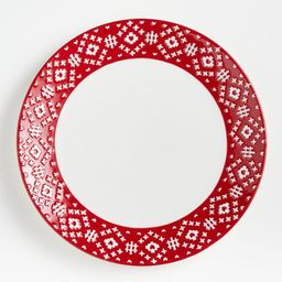 Hilde Round Platter | Crate and Barrel | Crate & Barrel