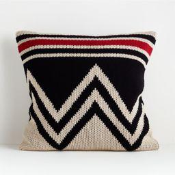 "Bregenz 23"" Sweater Pillow Cover | Crate and Barrel | Crate & Barrel"