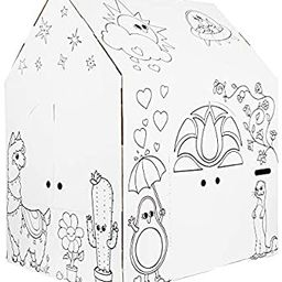 Easy Playhouse Magical Animal House - Kids Art & Craft for Indoor Fun, Color, Draw, Doodle on Fav... | Amazon (US)