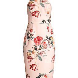 Black Halo Women's Montego Floral Sheath Dress - Floral - Size 4 | Saks Fifth Avenue