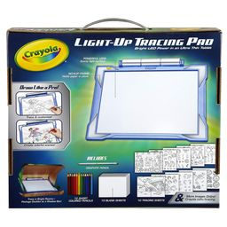 Crayola Light-up Tracing Pad Blue, Coloring Board for Kids, Gift, Toys for Boys, All Ages above 6 | Walmart (US)