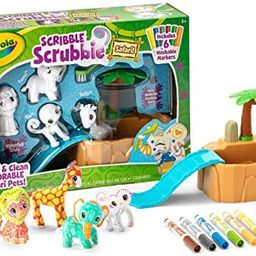Crayola Scribble Scrubbie Safari Animals Tub Set, Color & Wash Creative Toy, Gift for Kids, Ages ... | Amazon (US)