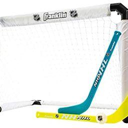 Franklin Sports Knee Hockey Set - Includes 1 Light Up Hockey Goal - 2 Light Up Mini Hockey Sticks... | Amazon (US)