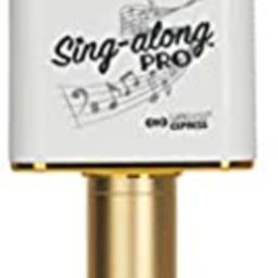 Sing-Along PRO Portable Bluetooth Karaoke Microphone and Bluetooth Stereo Speaker - All-in-one - ...   Amazon (US)