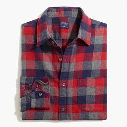 Slim Flannel Shirt | J.Crew Factory