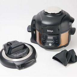 Ninja Foodi 5-qt 11-in-1 Pressure Cooker w/ TenderCrisp Technology   QVC
