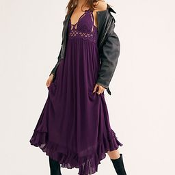FP One Adella Maxi Slip by FP One at Free People, Plum, S | Free People (US)